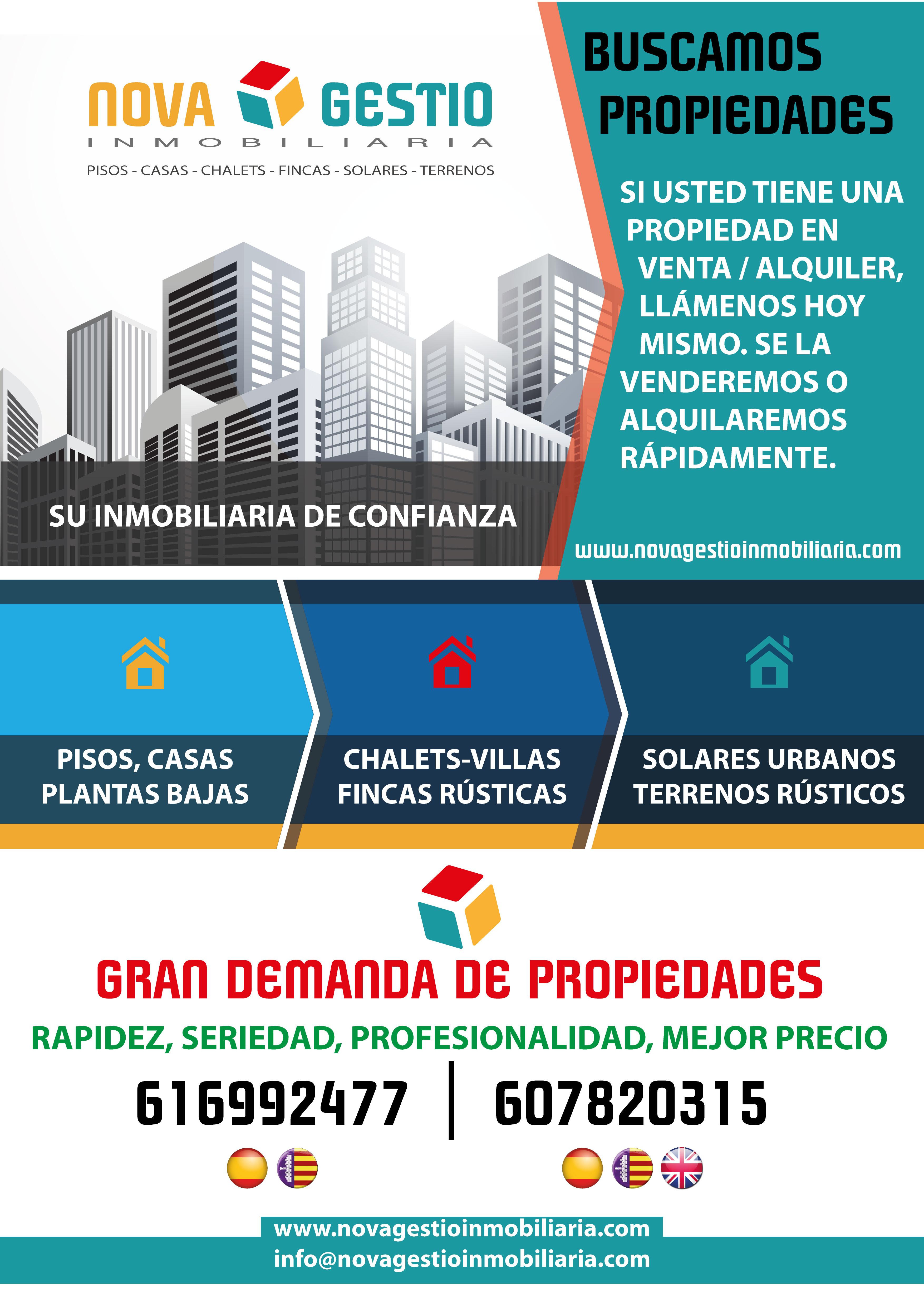 Nova gestio inmobiliaria venta y alquiler de propiedades - Tramites legales para alquilar un piso ...