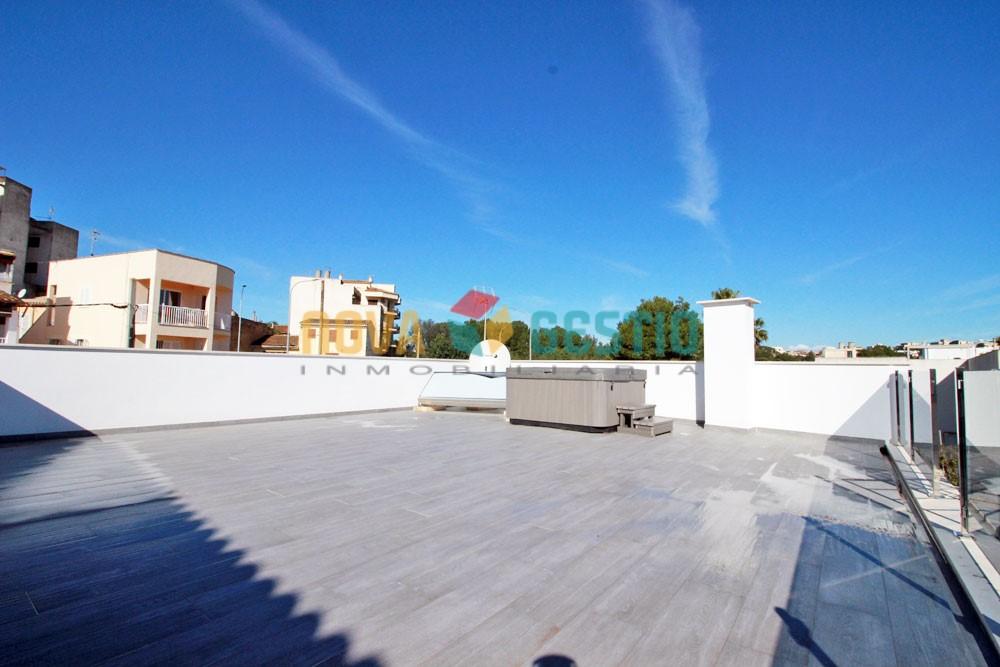 Casa de obra nueva con local en porto cristo ca503pc for Inmobiliaria porto cristo