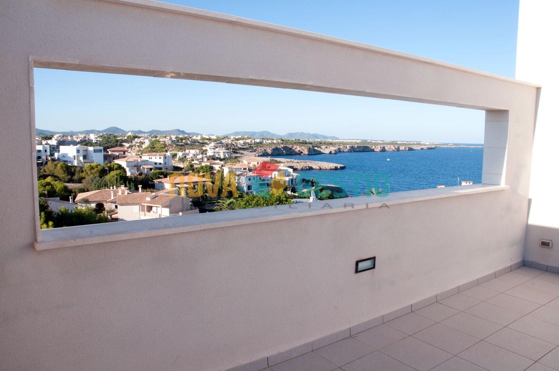 Ático en 1ª línea de Mar en venta en Porto Cristo : : AT282PC-VES