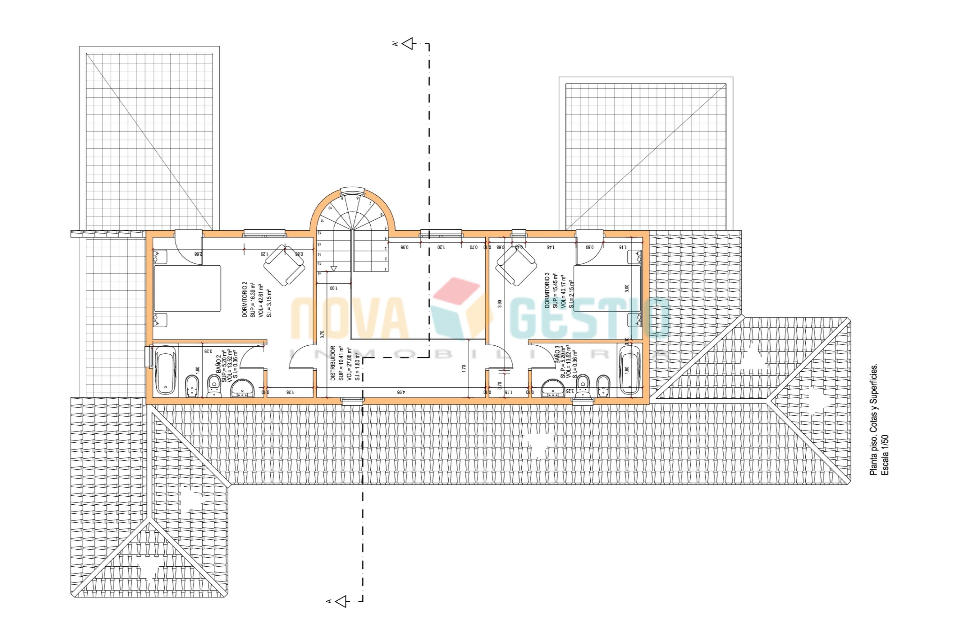 Plano planta piso