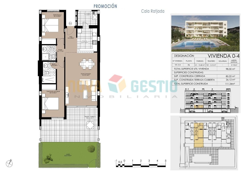 Plano vivienda planta baja (0-4)