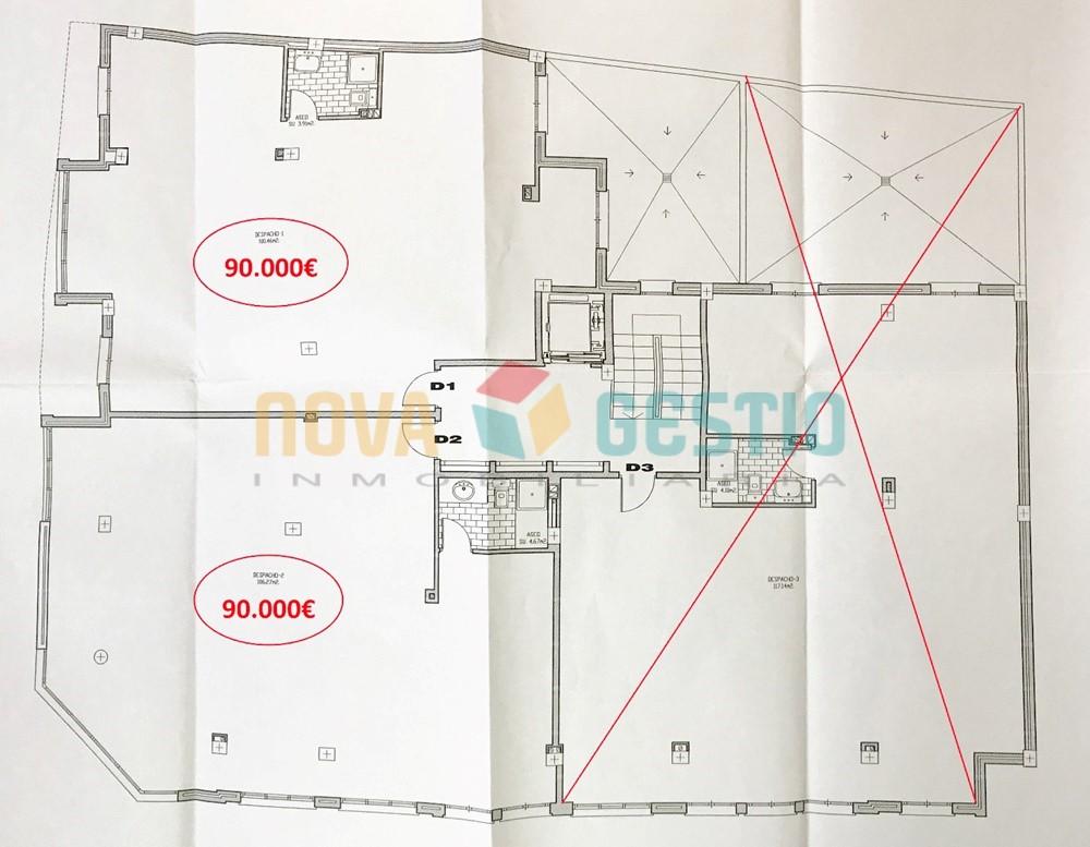 Oficinas en venta en Manacor : : DE805MA-VES