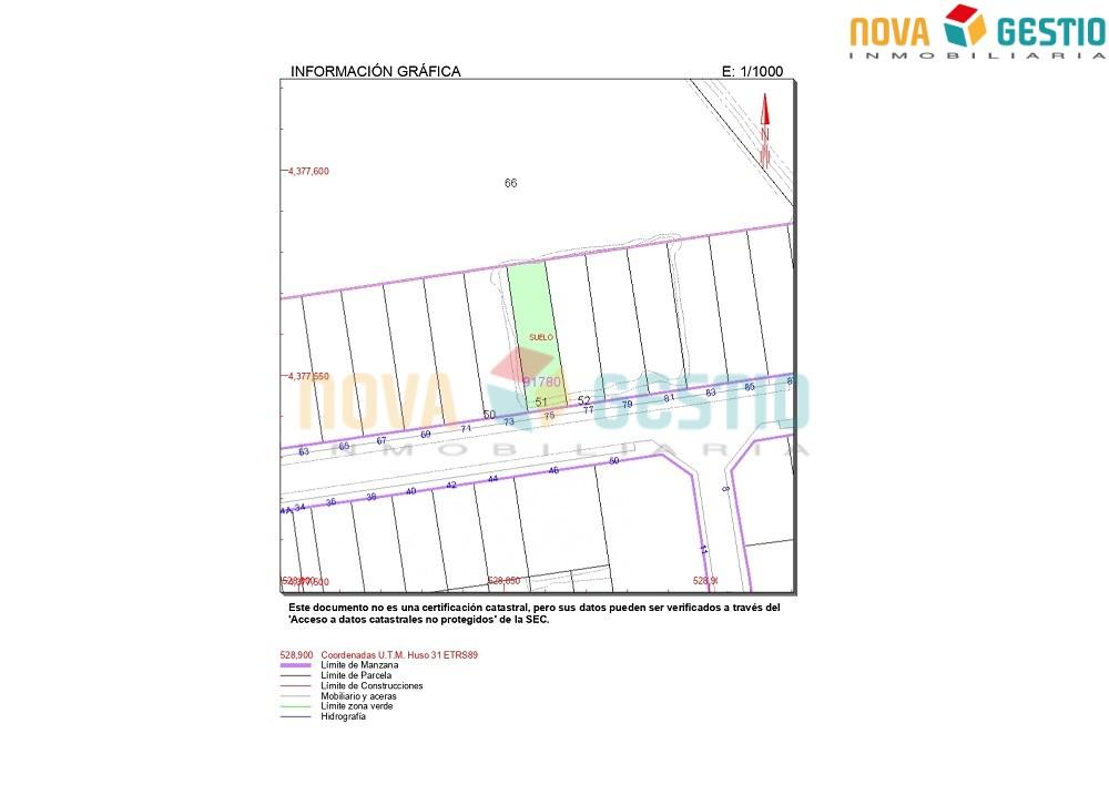 Solar en venta en Porto Cristo : : SO824PC-VES