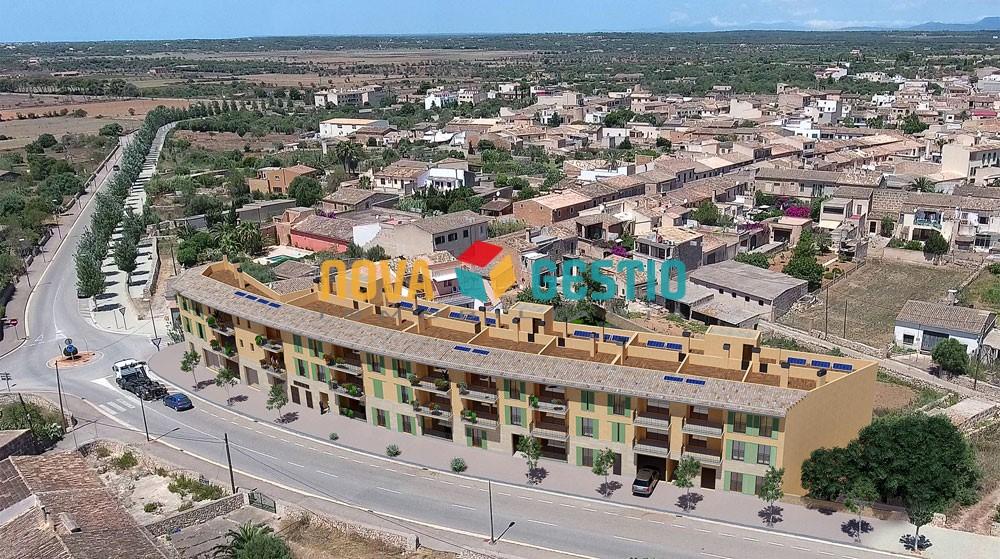 Promoción de viviendas a estrenar en Santanyi : : PI958SA-VES