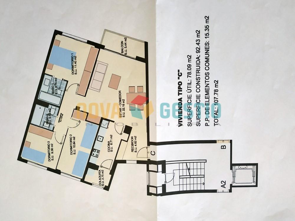 Piso en venta en Manacor : : PI821MA-VES